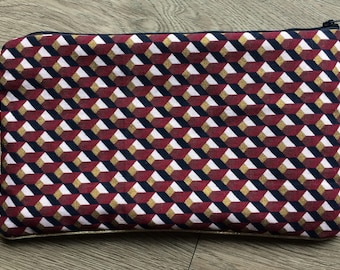 /Trousse fabric pouch