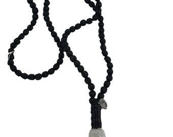 """Necklace """"White Buddha"""""""