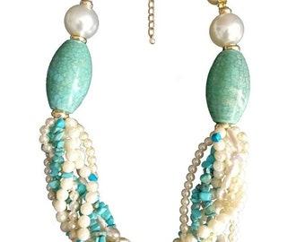 """Necklace """"Ocean Princess"""""""