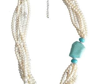 "Necklace ""Pearl Princess"""