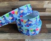 Eeyore Ribbon Grosgrain Ribbon Bows Key Fobs Disney Winnie the Pooh Ribbon
