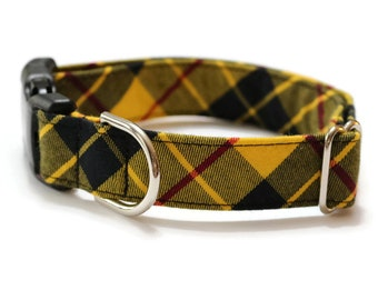Tartan plaid dog collars | Etsy