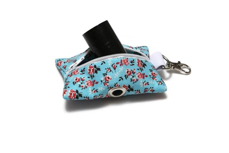 Dog Gift Poop Bag Holder Leash Bag Dog Accessory- Waste Bag Holder Poop Bag Dispenser Dog Lover Gift Spot and Biscuit
