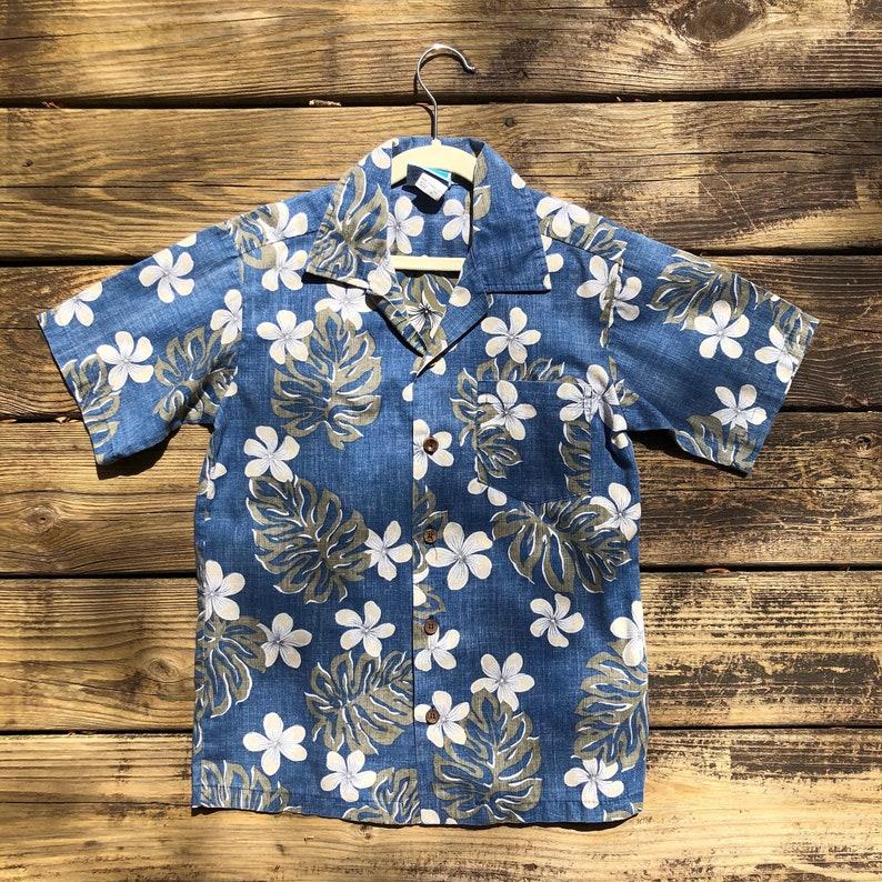 f703993d6 Size 10 RJC Hawaiian Shirt Kids Aloha Vintage Tiki Luau | Etsy
