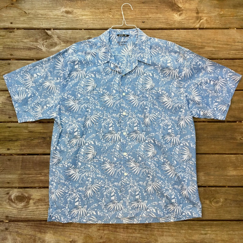 a8d774768 Men's 2XL Hawaiian Shirt Vintage Bugle Boy Tropical Beach   Etsy