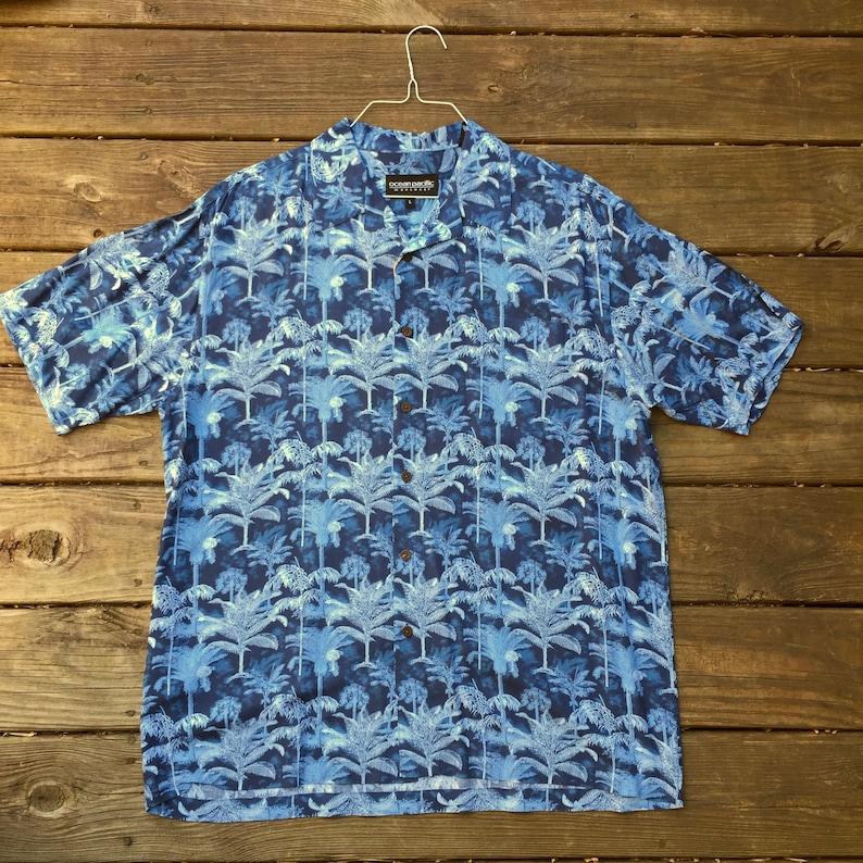 a2f8efc9e Ocean Pacific Hawaiian Shirt Men's L Large Vintage | Etsy