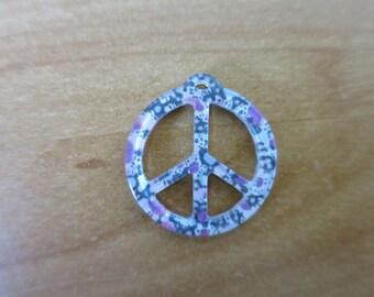 Love and peace pendant