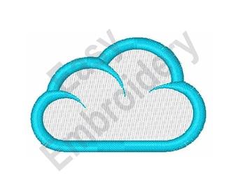 Cloud - Machine Embroidery Design