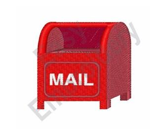 Mail Box - Machine Embroidery Design