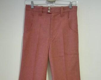 70s RED Gradient PANTS Made In SPAIN