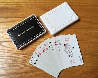 Blanche Buchanan cartes à jouer, cartes anciennes, cartes dans le cas, les filles d'or, grand-mère, épouse, soeur, jeux de cartes, jeux de voyage