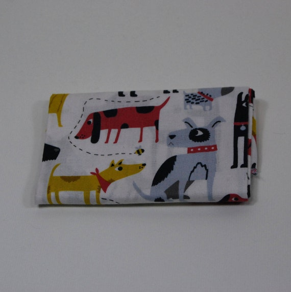 PATCH fabric Coupon cotton patchwork 50x55cm yellow and black DOGS