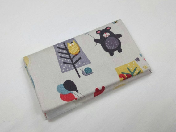 WINDY DAY fabric Coupon cotton patchwork Windy Day Scenic blue grey 50x55cm