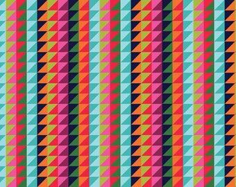 WRAP IT UP fabric cotton patchwork Triangle Stripe x50cm
