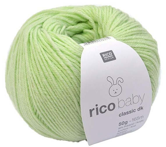 RICO BABY Classic dk 50g 165 m light green