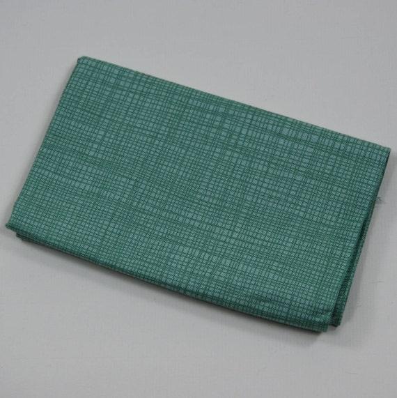 LINEA Coupon fabric cotton patchwork LINEA 50x55cm Seagreen