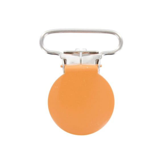 ORANGE 25MM METAL STRAP CLIP