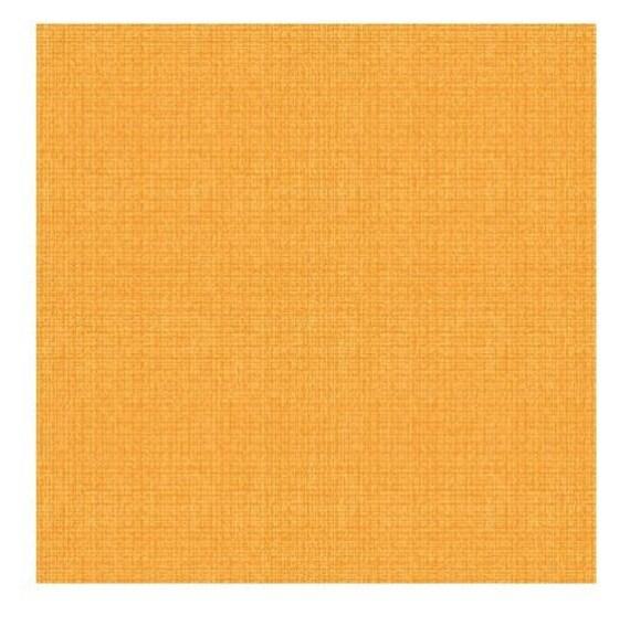 COLOR WEAVE fabric cotton patchwork Orange x50cm