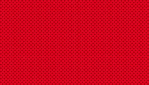 CHRISTMAS fabric cotton patchwork Spot Polka dot two-tone red x 50 cm