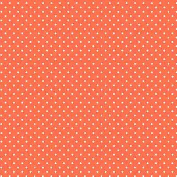 SPOT ON fabric cotton patchwork Papaya x50cm