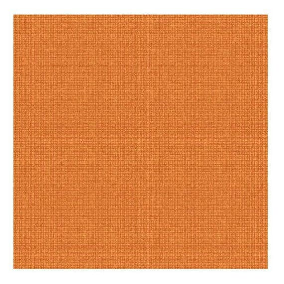 COLOR WEAVE fabric cotton patchwork rust x50cm