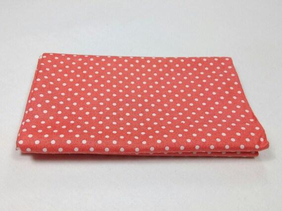 SPOT ON fabric Coupon cotton patchwork PAPAYA 50x55cm