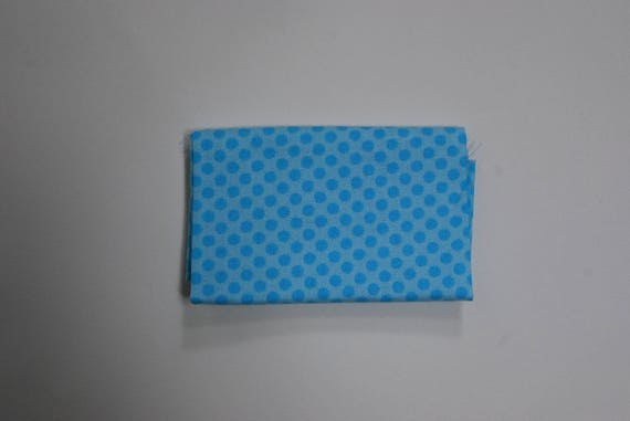 BREEZY BABY fabric Coupon Breezy patchwork cotton baby blue 50x55cm