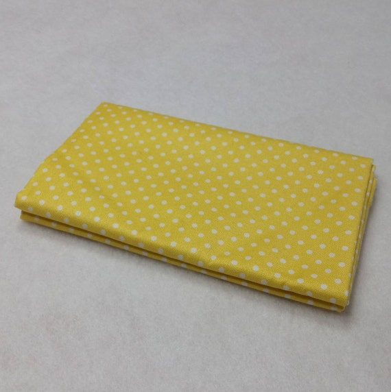 SPOT ON fabric Coupon cotton patchwork SUNSHINE yellow 50x55cm