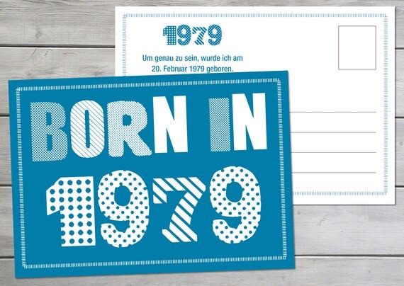 Einladung Zum 40 Geburtstag Postkarte Im Din A6 Format Etsy