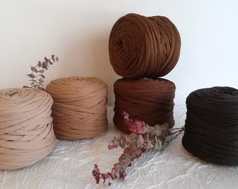 Trapilho, fancy trapilho coil in elastic polyamide tulle, ultra-light trapilho in polyamide tulle, trapilho yarn, 180 -220 m.