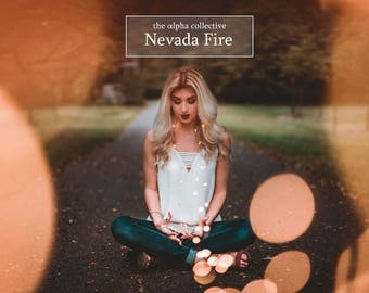 The Alpha Collective - Nevada Fire Presets & Dark and Moody Portrait Pack
