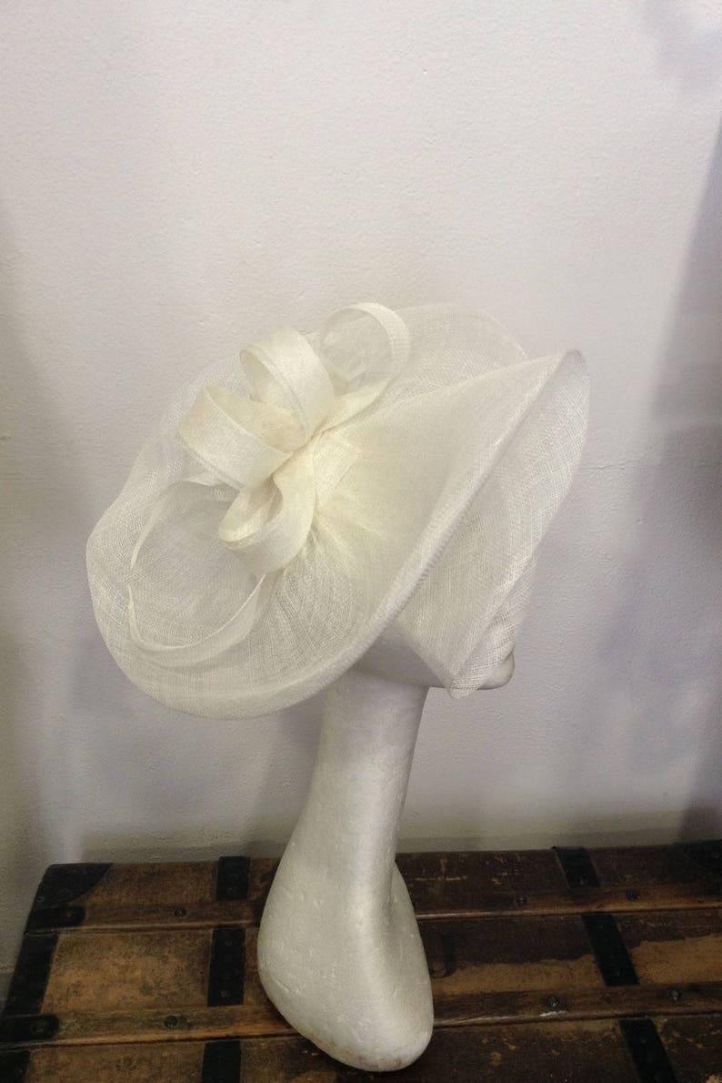custom-made item double volutes shape custom made item Bibi off-white wedding