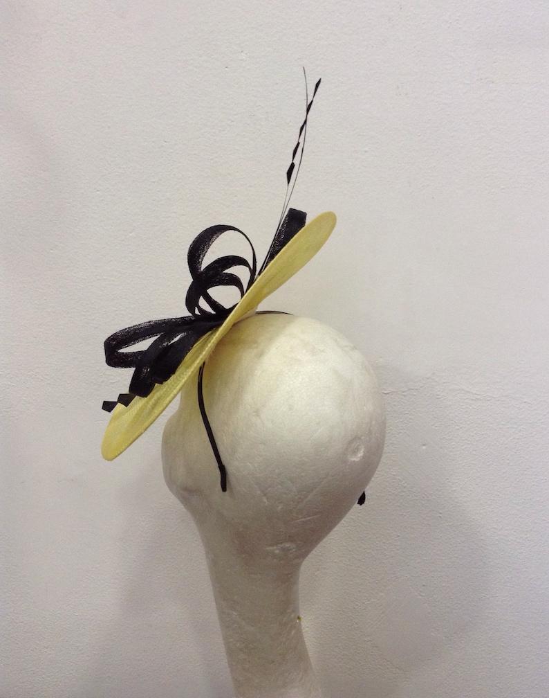 arabesque chic style custom-made item Yellow and black Bibi wedding-cocktail-ceremony