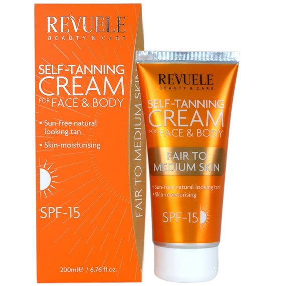 NATUREL REVUELE Crème FPS 15 (200ML)--or-Bronze Tan--meilleur produit