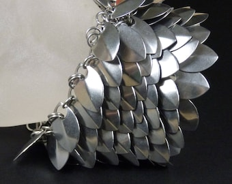 Stainless Steel Scalemaille Bracelet