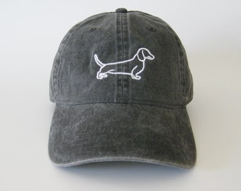 36745219b60 Dachshund Cap dachshund hat dog hat dot cat puppy hat embroidered cap dog  embroidered hat puppy hat
