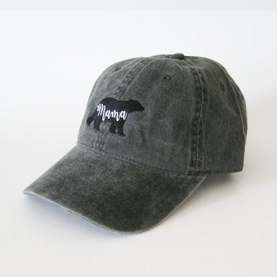 d2c25d38927282 Mama bear cap mama bear hat embroidered hat dad cap dad hat | Etsy