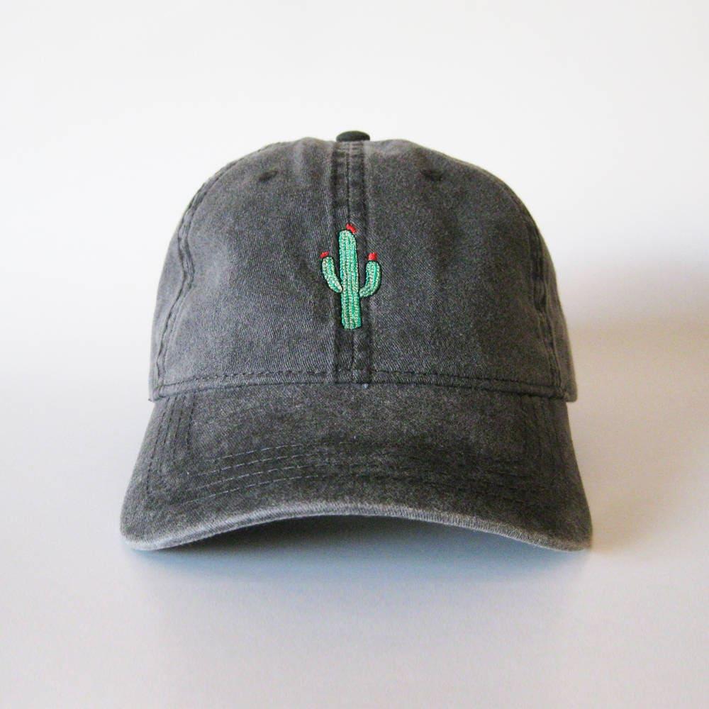 Cactus Cap Embroidered Cap Cactus Hat Dad Cap Dad Hat  2ec5ed2c63f0