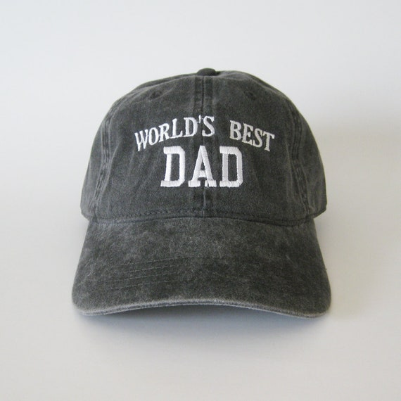 World s Best Dad cap dad hat dad cap embroidered hat  a3ef5b1e50f
