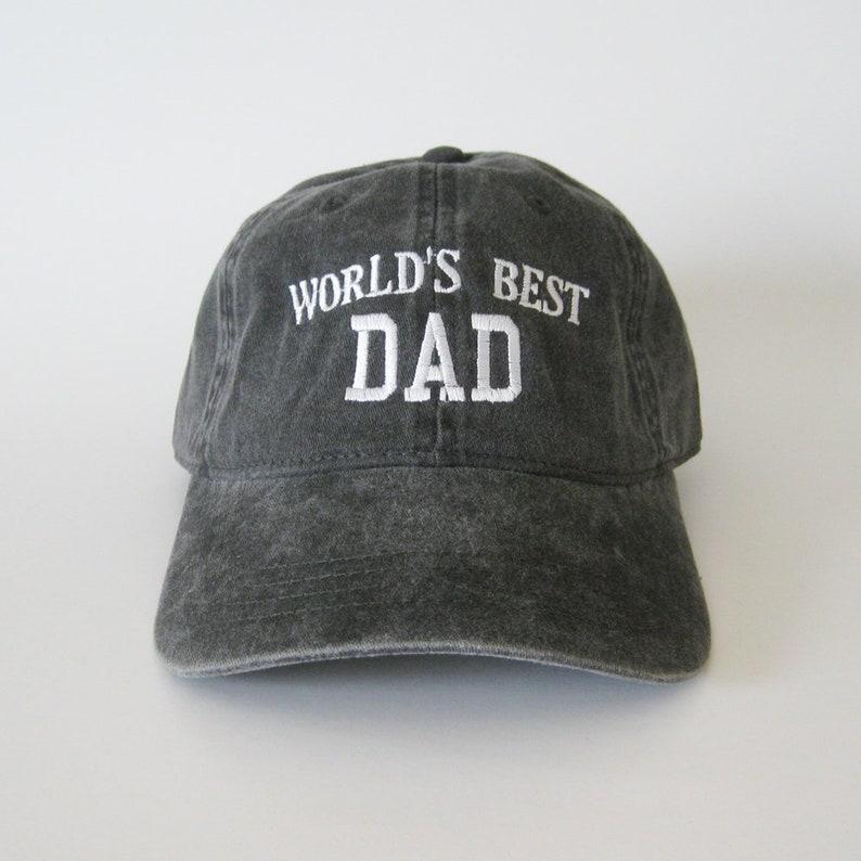 47933cd9da613b World's Best Dad cap dad hat dad cap embroidered hat | Etsy