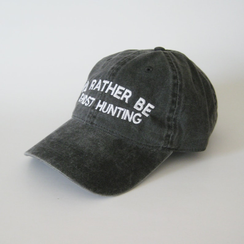 f6bda09c504ce I d rather be ghost hunting cap hat dad cap dad hat