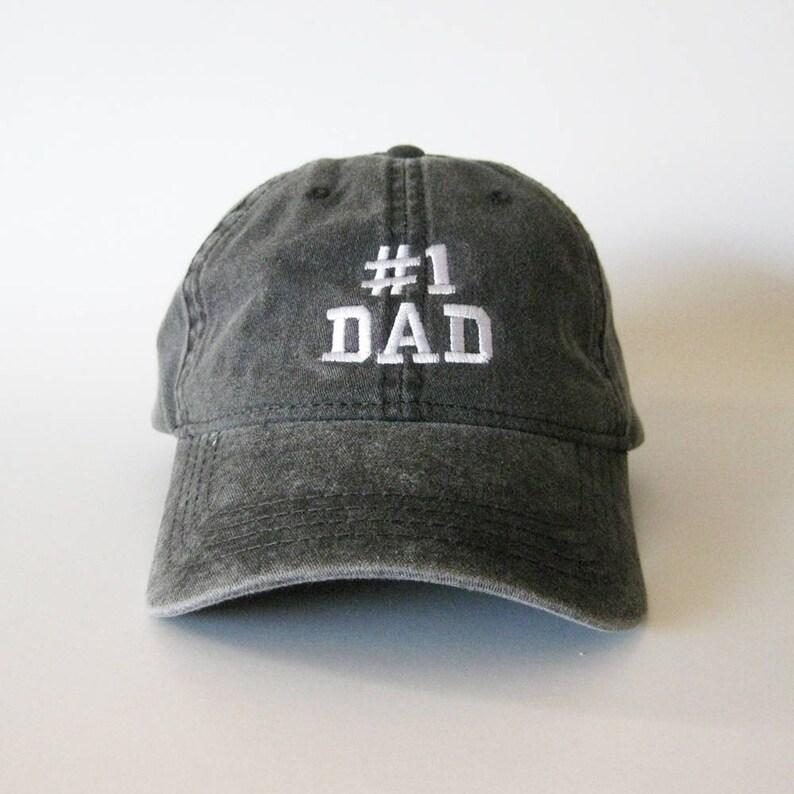 07f16bd9d07 Number 1 Dad Embroidered Cap 1 Dad Cap 1 dad hat 1 dad