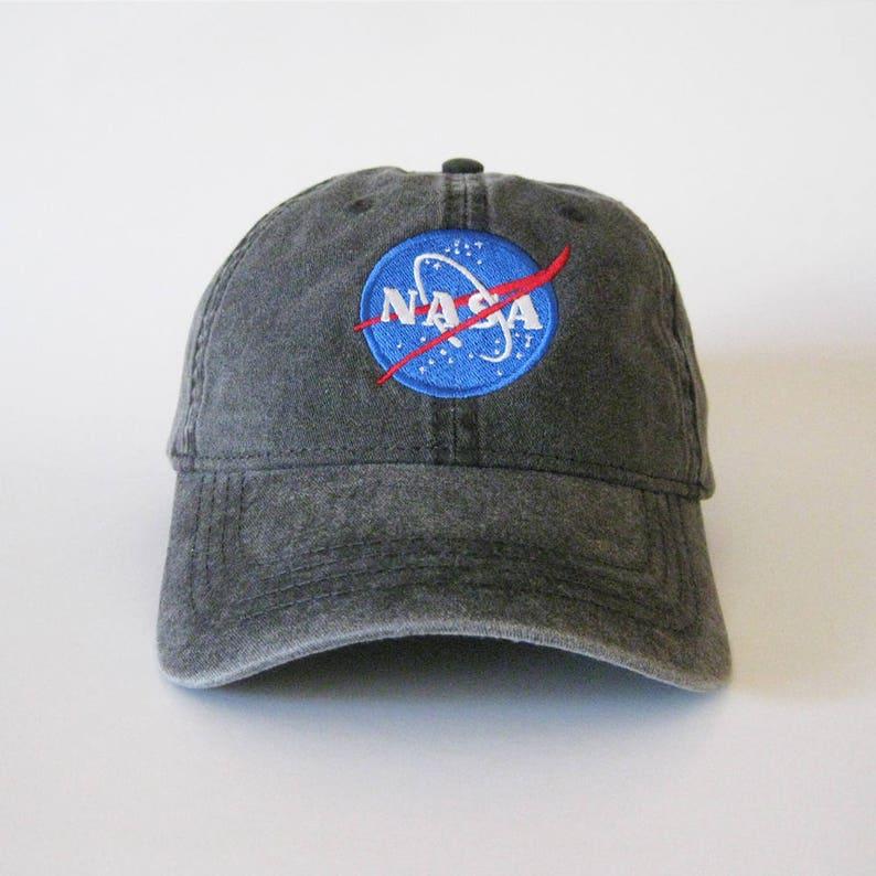 be84def939f NASA Embroidered Cap Dad cap dad hat dad baseball cap nasa cap