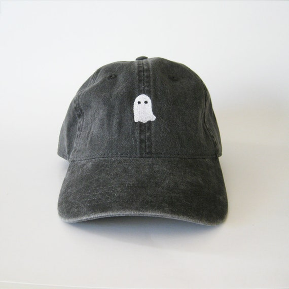 6f0a9cbfbf8b0 Ghost Halloween Cap Ghost Cap Dad Cap Halloween Costumes