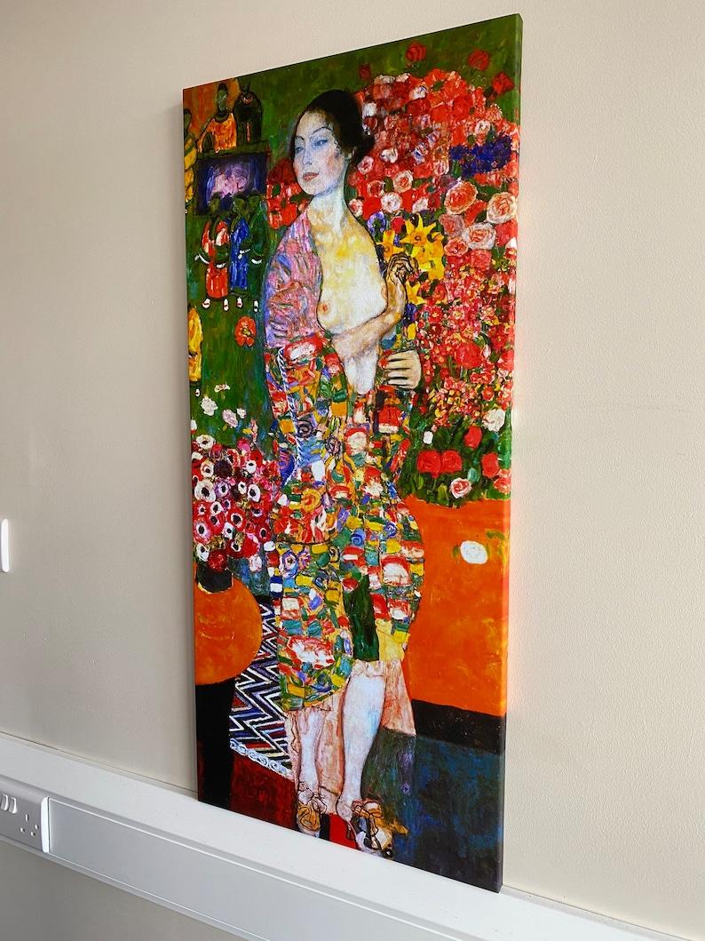 The Dancer Gustav Klimt hand-painted oil painting