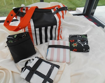 foldable bag in cotton to carry around