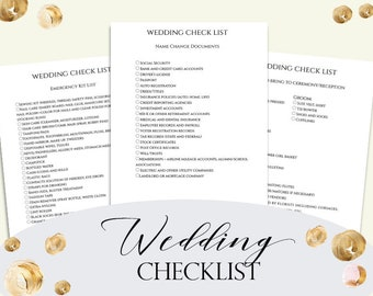 to do wedding list