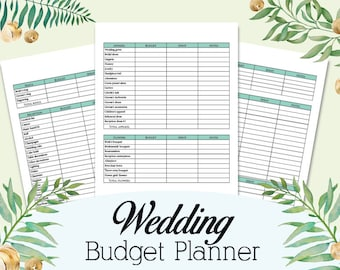 wedding planner diy wedding planner pages printable wedding etsy