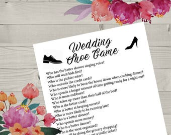 Wedding Game Etsy