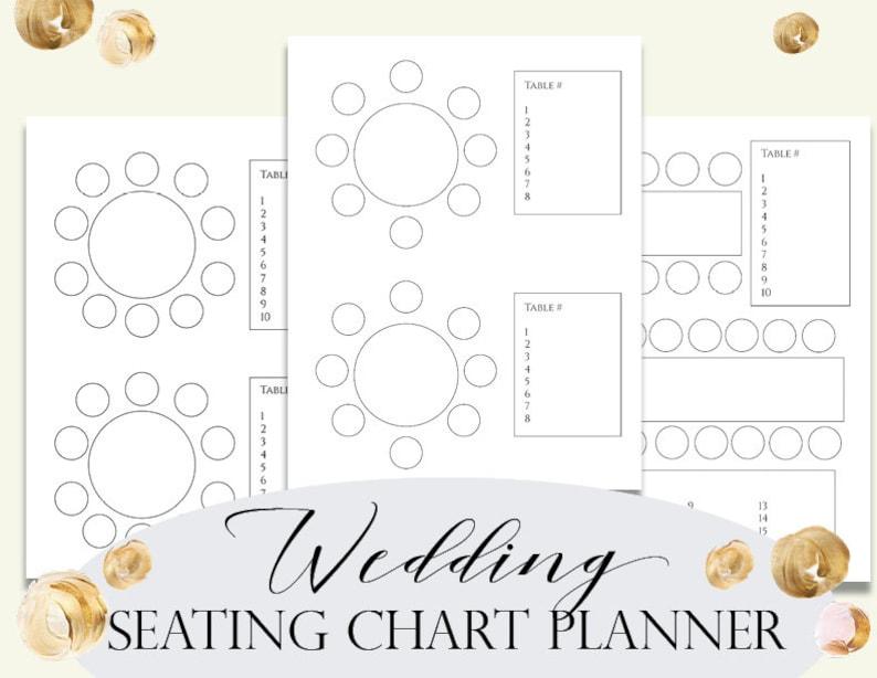 Wedding Seating Chart Maker.Wedding Seating Chart Planner Seating Plan Seating Chart Seating Arrangement Wedding Organizer Wedding Reception Planner